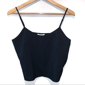 Nanette Lepore Cropped Tank Top Basic Staple